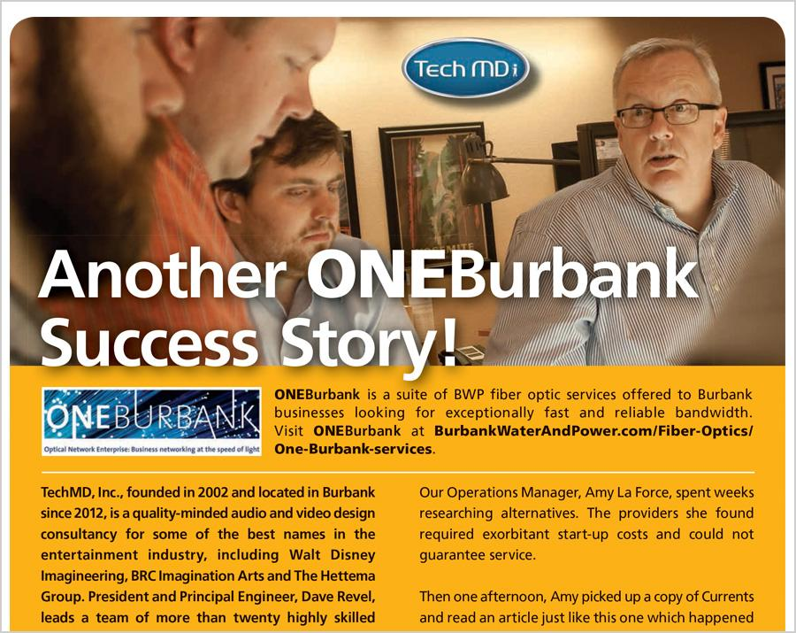TechMD Values ONEBurbank Service