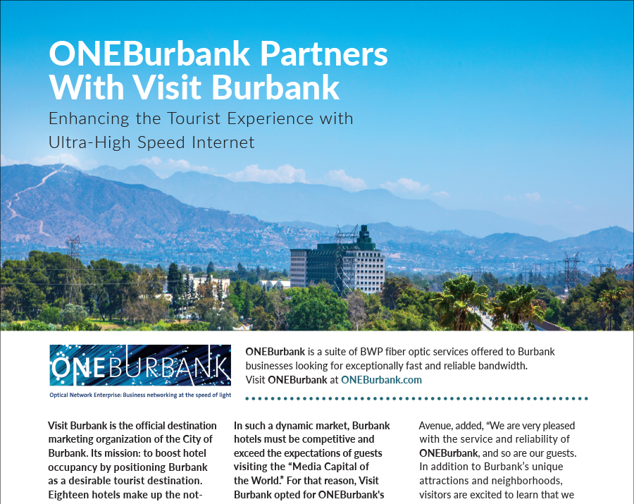Enhancing the Tourist Experience with ONEBurbank